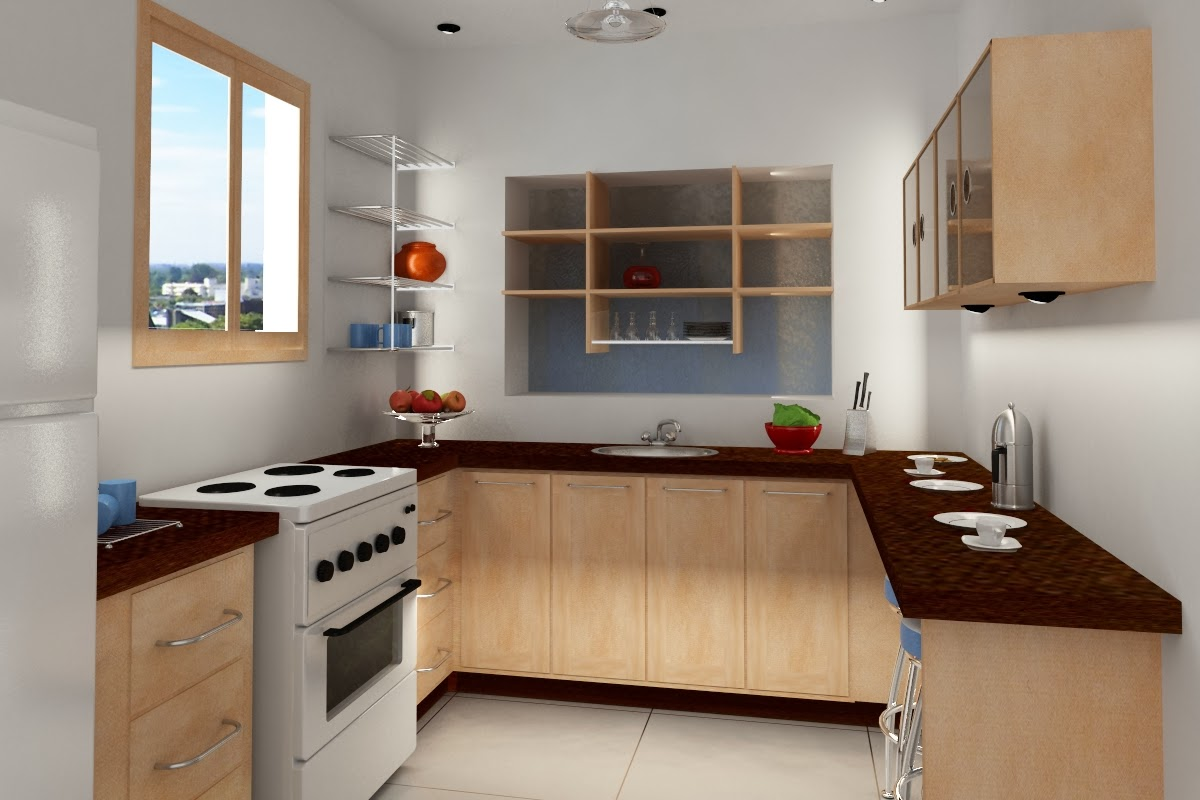The Solution For A Very Small Kitchen Design Of A Small